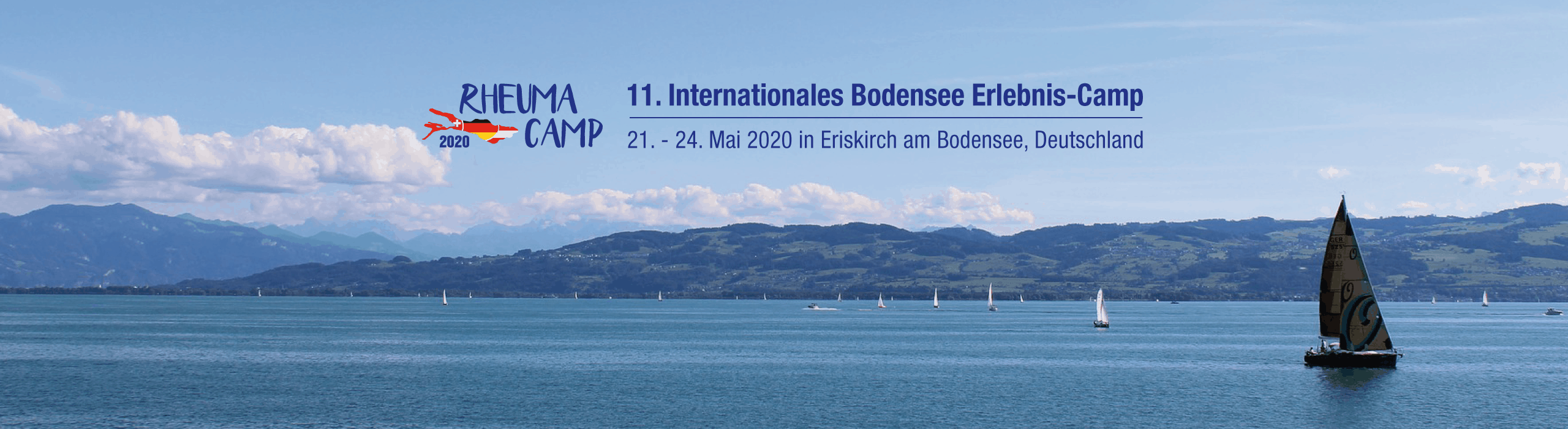 Rheuma Camp 2020, 21. – 24. Mai 2020 in Eriskirch am Bodensee, Deutschland